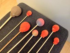 Schläger für Klangschalen und Gong / Klangtherapie SONIMED