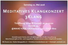 Konzert 3-Klang 2016