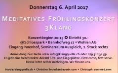 Konzert 3-Klang 2017