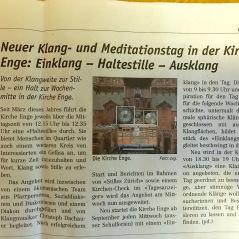 Klangtag Kirche Enge