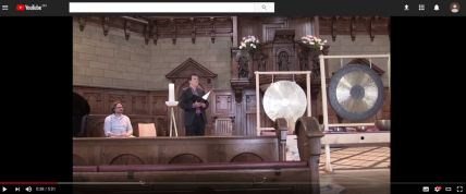 Haltestille Kirche Enge