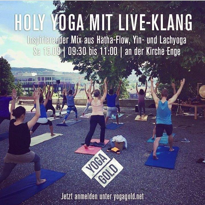 Holy Yoga Klangyoga mit Sound von Christoph